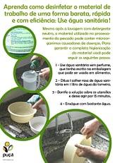 Cartaz - agua sanitaria 2