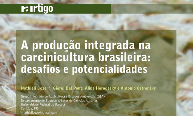 A produção integrada na carcinicultura brasileira: desafios e potencialidades