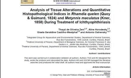 Alterações histopatológicas provocadas pela ictiofioríase em pacus e jundiás