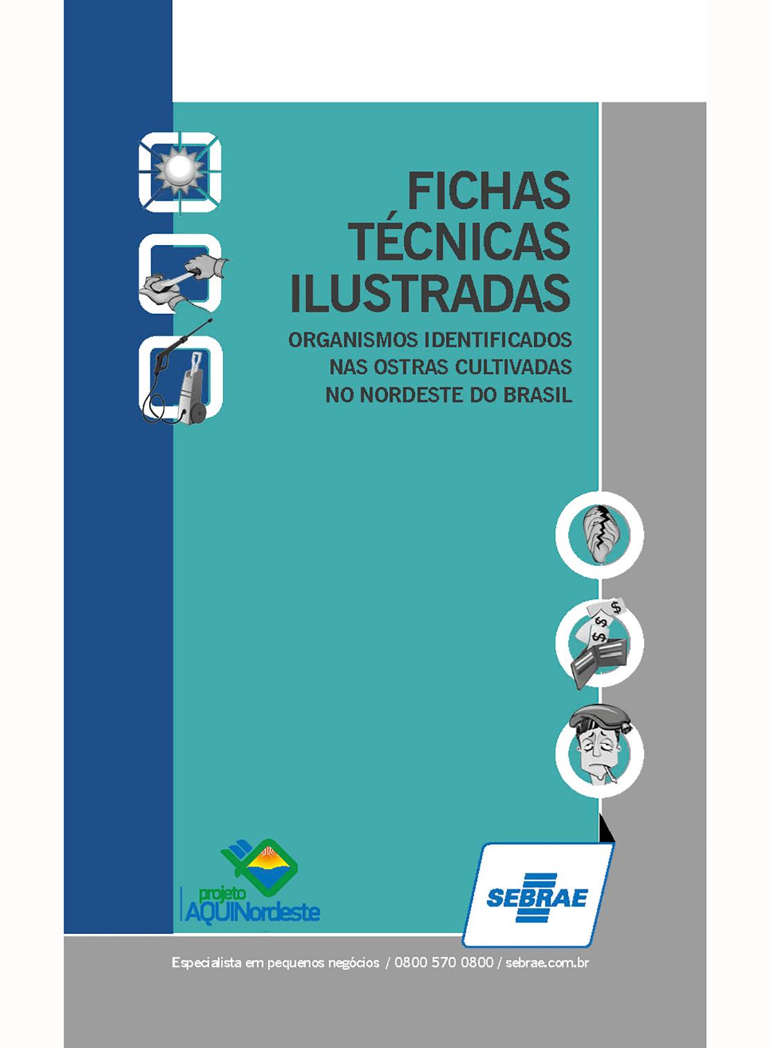 Fichas Técnicas Ilustradas – Sebrae/Projeto AquiNordeste