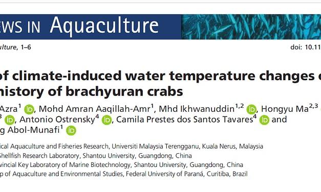 Efeitos das mudanças climáticas para os caranguejos